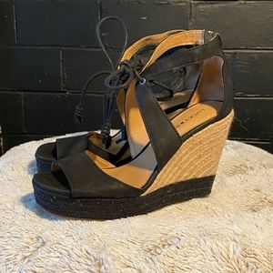 Lucky brand roped wedges